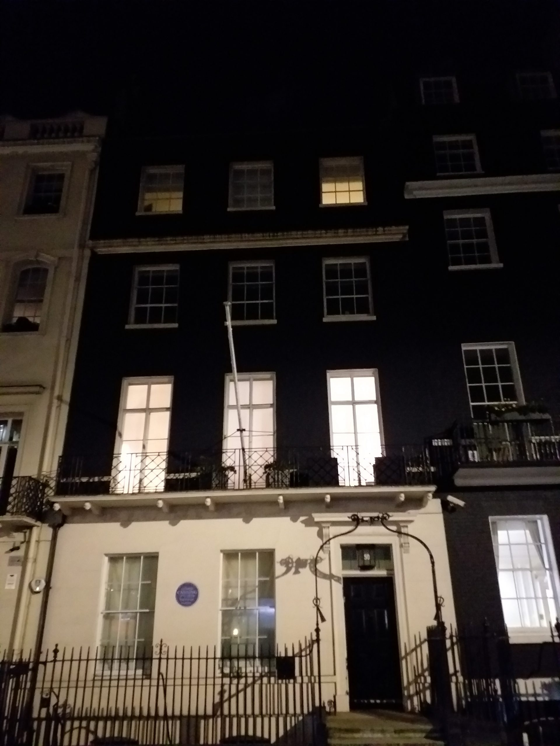 50 Berkeley Square, the most haunted house in London (photo: Philipp Röttgers)