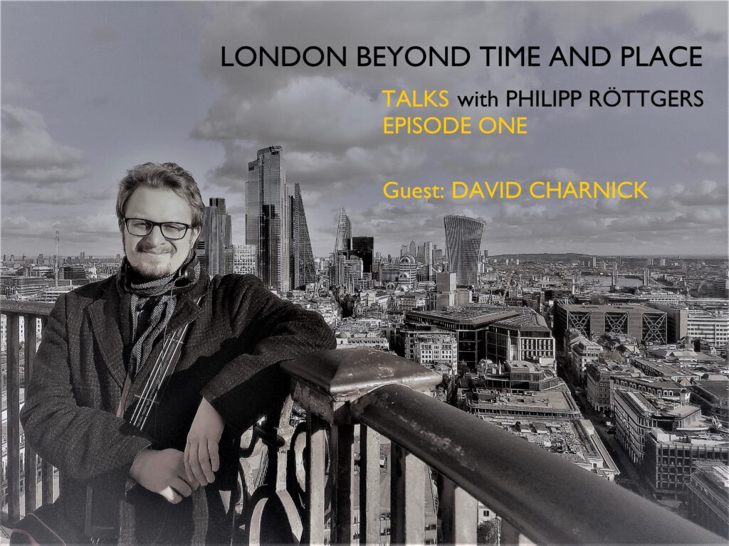 PhilippRöttgers Talks beyond time and place Logo New Episode One