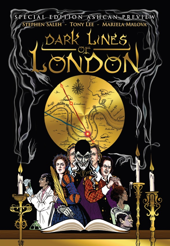 Dark Lines of London Cover