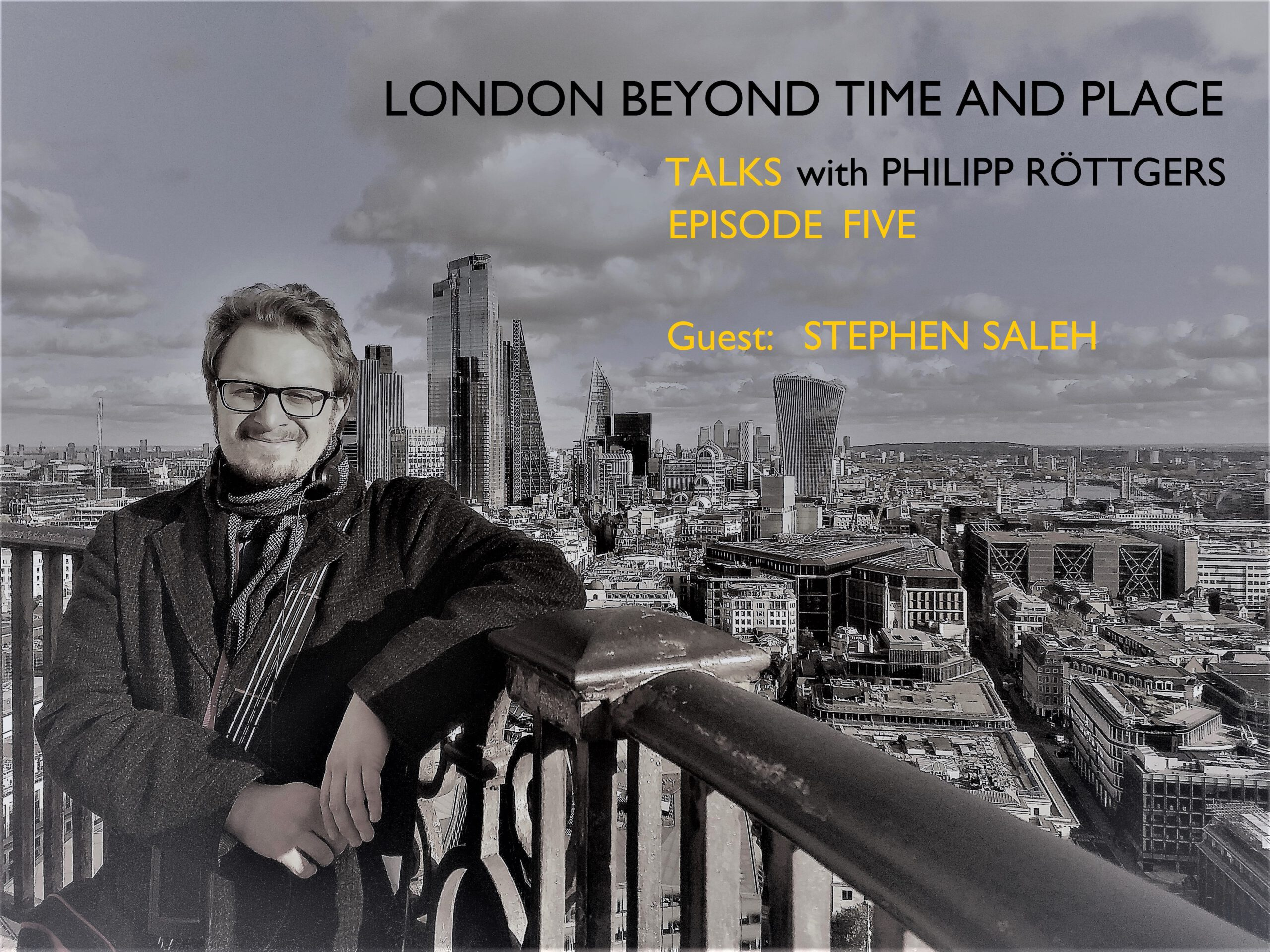 PhilippRöttgers Talks beyond time and place Logo Episode Five
