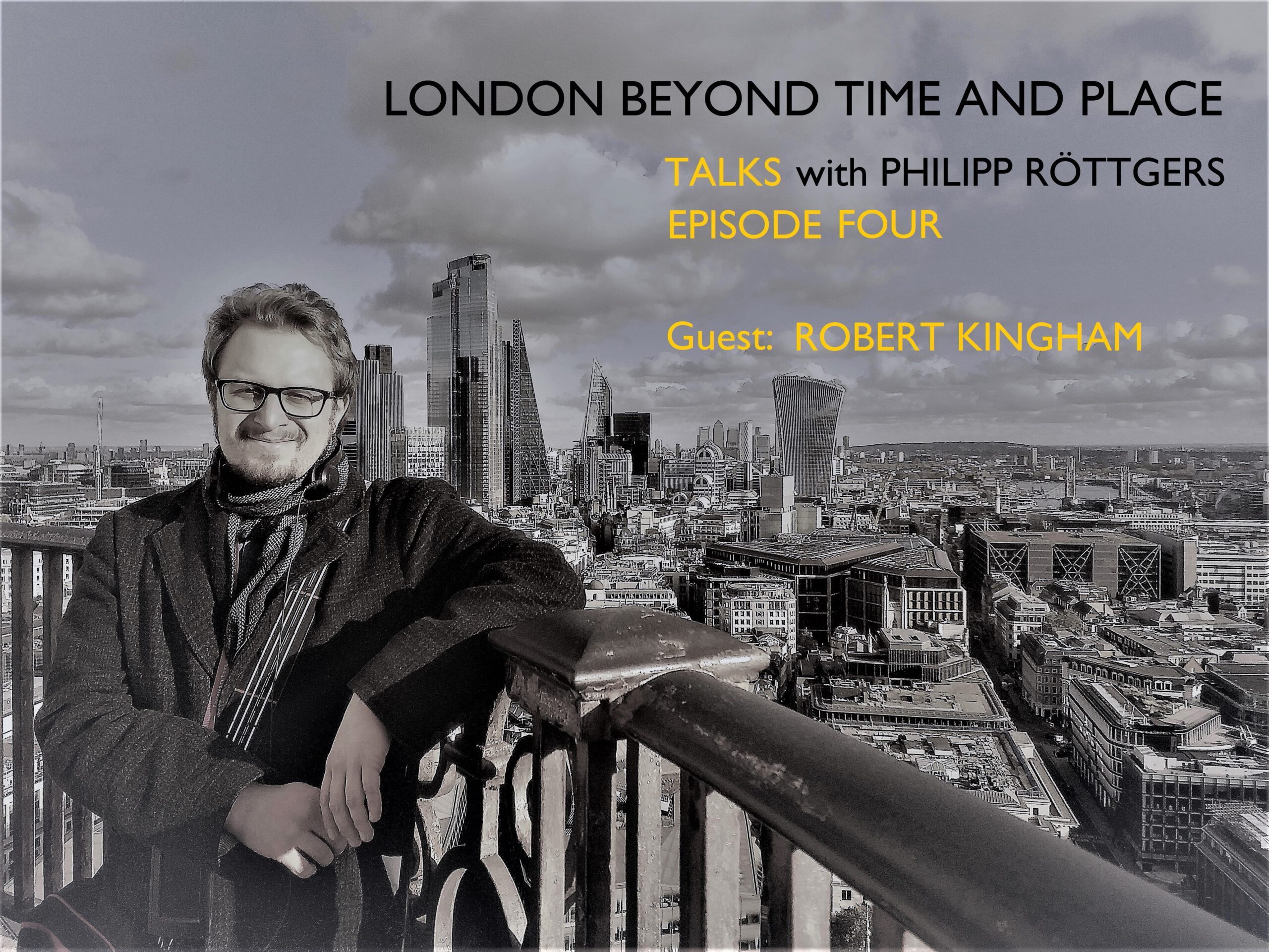 PhilippRöttgers Talks beyond time and place Logo Episode Four
